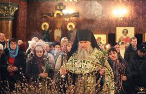 Фото Богослужения в праздник Входа Господнего в Иерусалим
