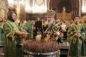 Вербное воскресенье, праздник Вход Господень в Иерусалим