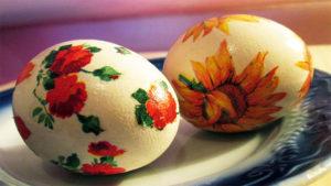 Декупаж для пасхальных яиц
