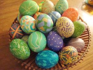Узоры для яиц на Пасху